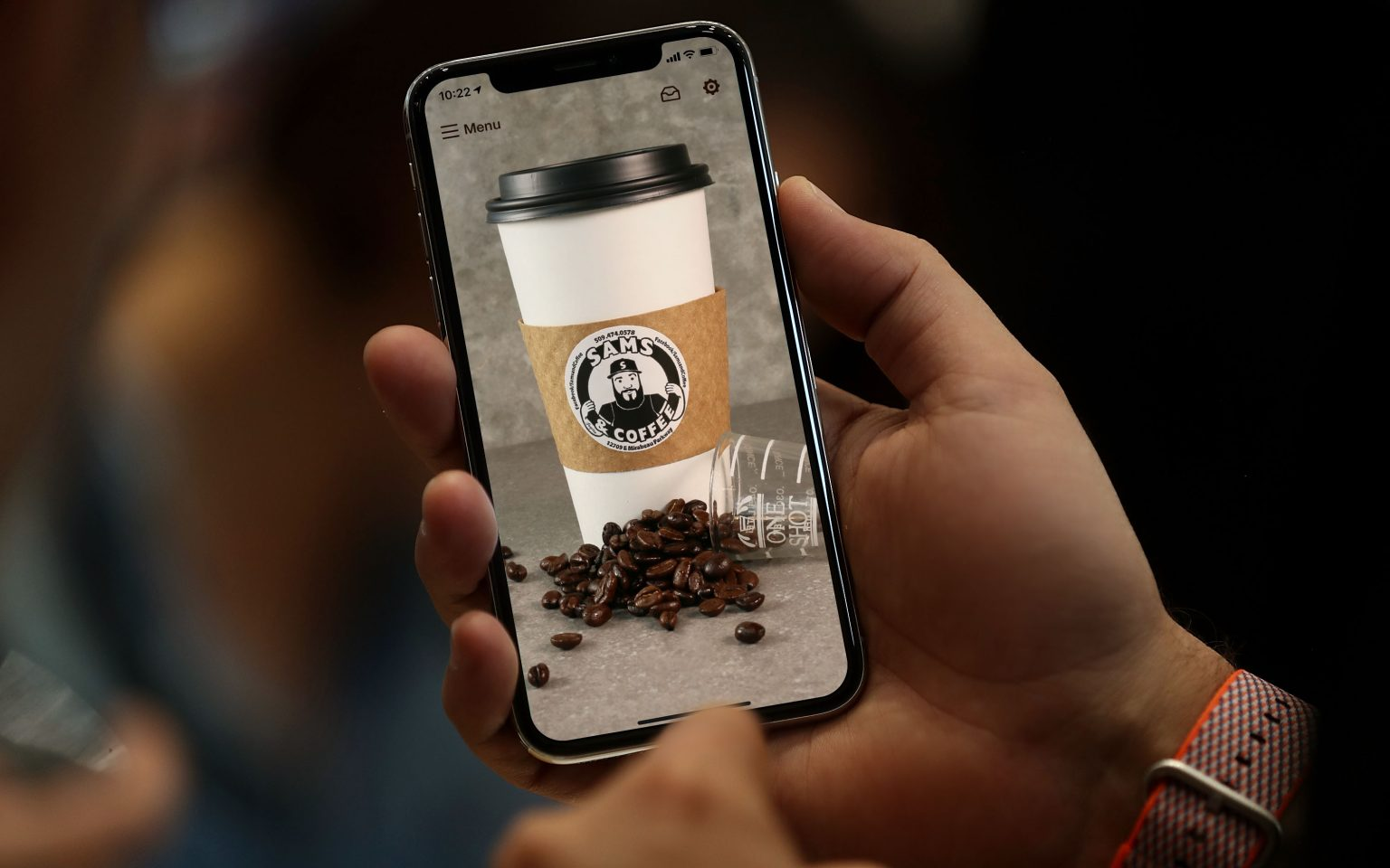 Sam's and Coffee Mobile App