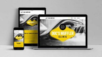 Doc's Muffler Clinic Website